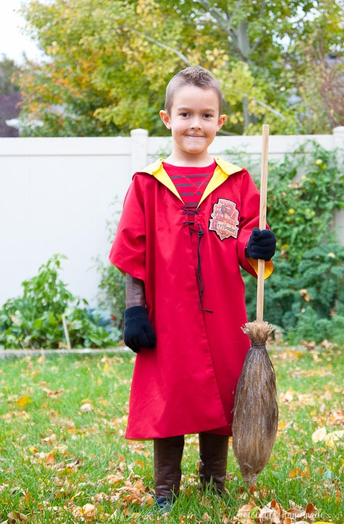 Harry Potter Quidditch Robes Halloween Costume Houseful Of Handmade