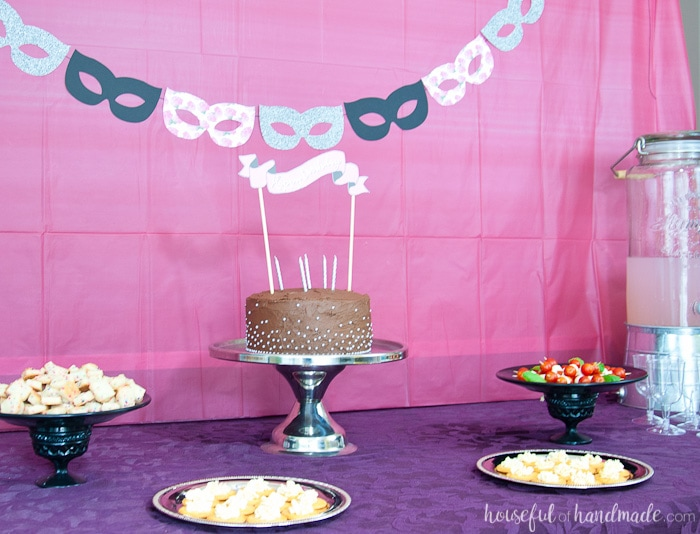 Masquerade Ball Themed Birthday Party Houseful Of Handmade