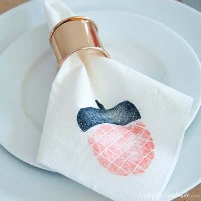 Homemade Decorative Napkins