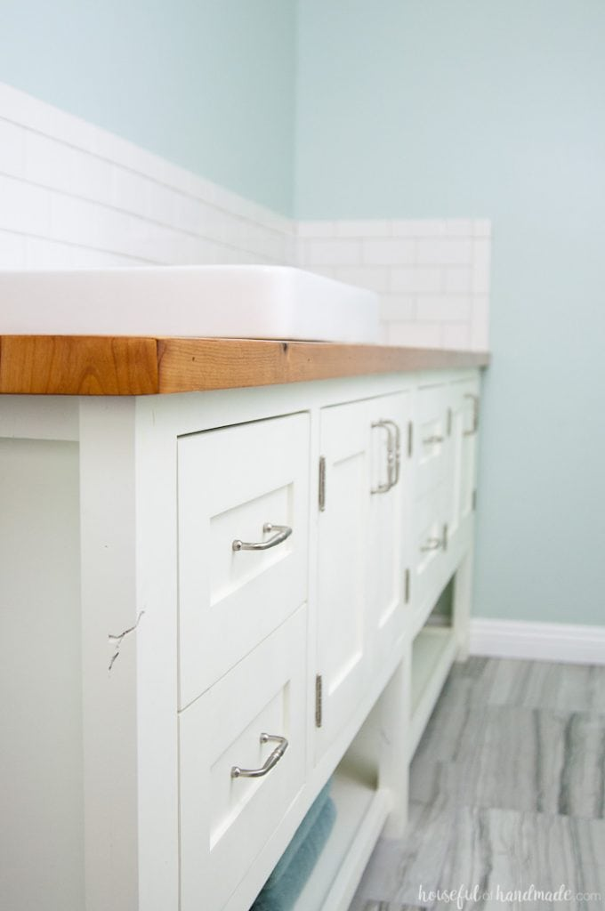 I Absolutely Love The Look Of This Bathroom Vanity! Add Some Rustic Warmth  To Your