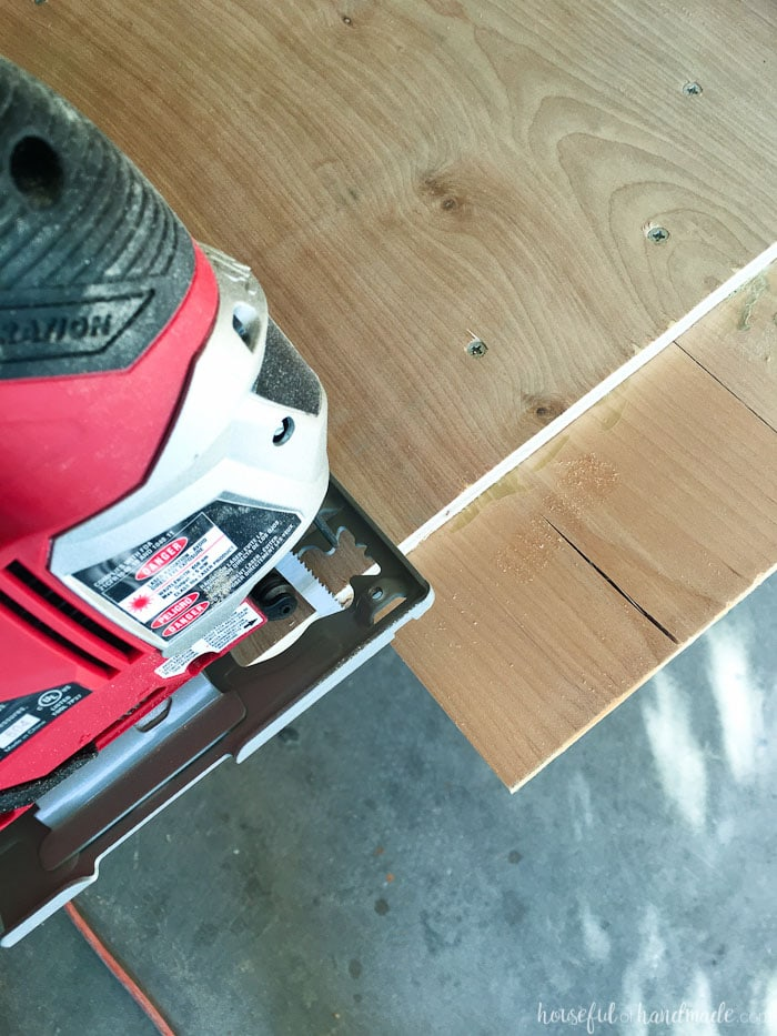 How To Build Amp Protect A Wood Vanity Top Houseful Of