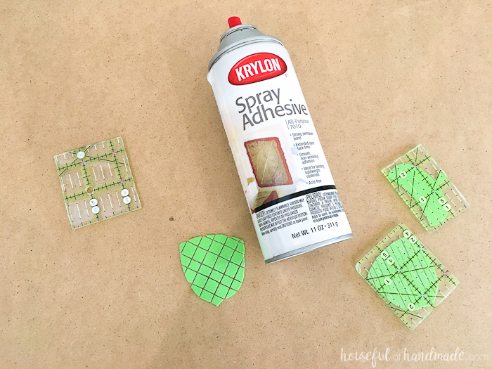 This is so awesome! Create custom foam stamps with your Silhouette cutting machine. Then use these DIY stamps to make homemade decorative napkins and so much more! | Housefulofhandmade.com