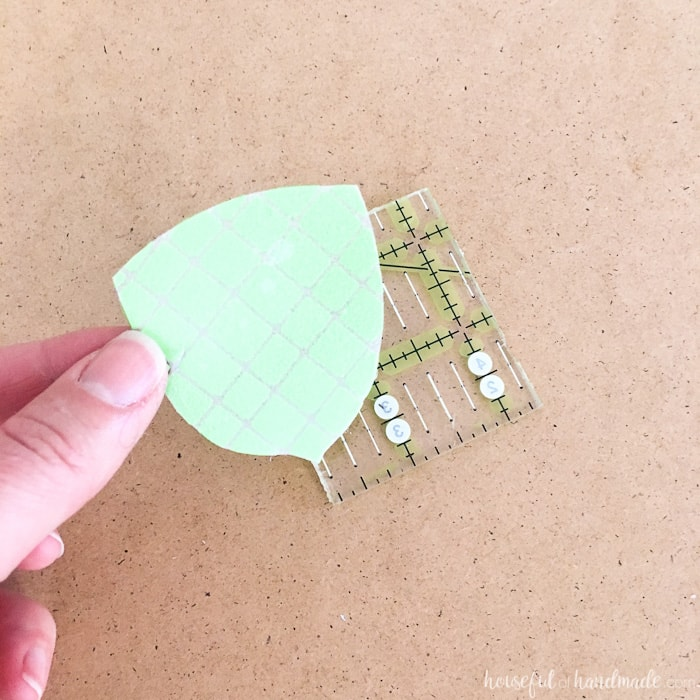 This is so awesome! Create custom foam stamps with your Silhouette cutting machine. Then use these DIY stamps to make homemade decorative napkins and so much more!   Housefulofhandmade.com