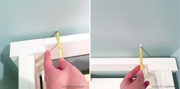 Learn how easy it is to install a bathroom vanity. Now you can get on with your DIY remodel! | Housefulofhandmade.com