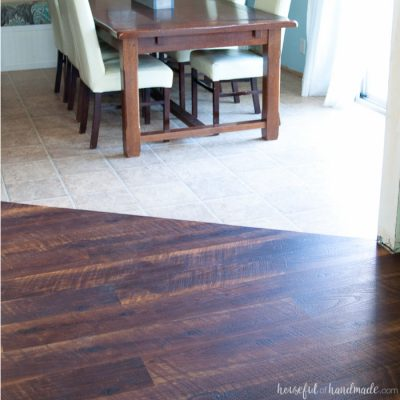 Remodel Update: How to Install Laminate Flooring
