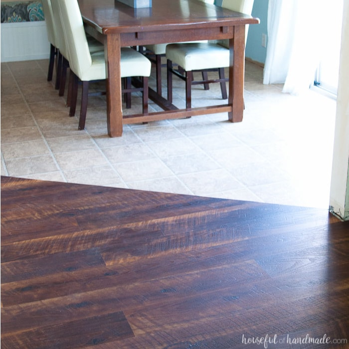 Remodel Update How To Install Laminate Flooring Houseful Of Handmade