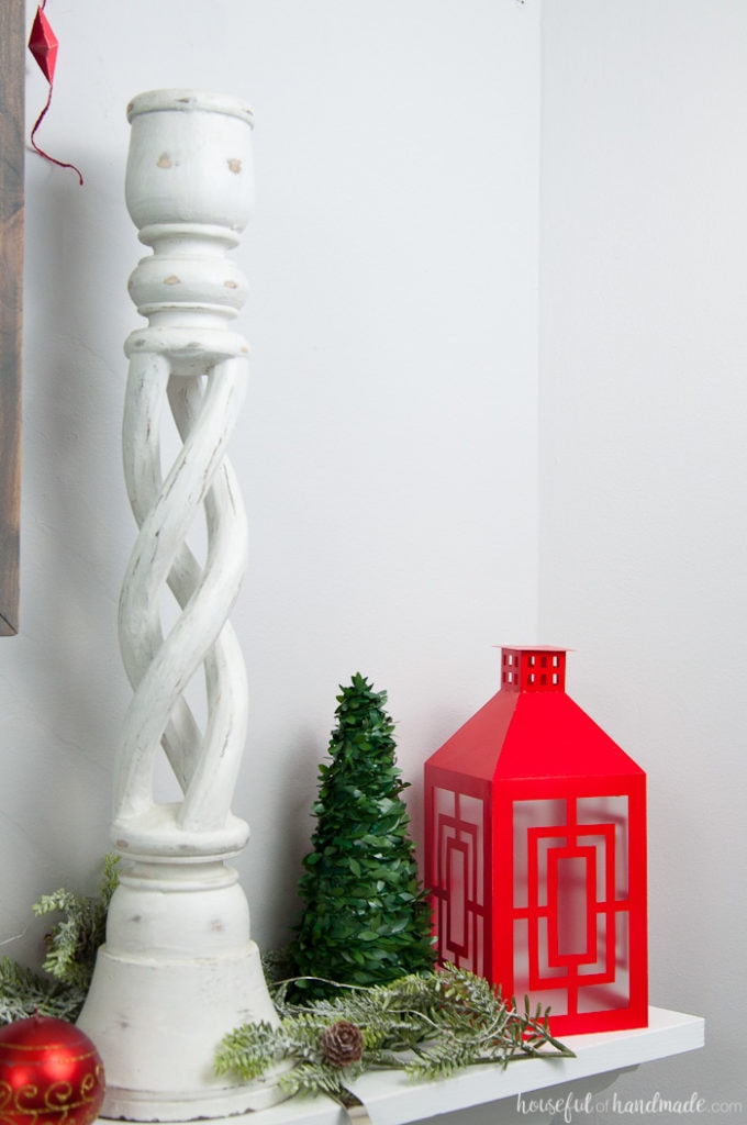I'm so excited to share our home all decorated for the holidays with you. Grab a cup of coffee and come see our Christmas home tour. We are decorated with a simple, traditional theme with a lot of red and metallics. | Housefulofhandmade.com