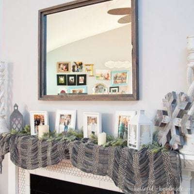 DIY Rustic Mirror