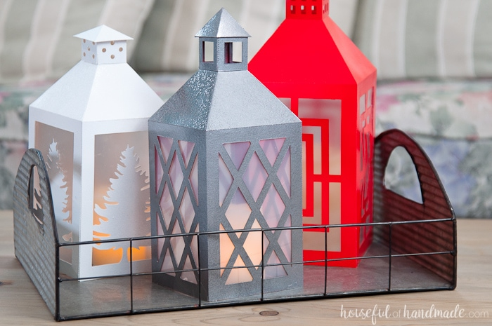 diy paper lanterns decor by houseful of handmade