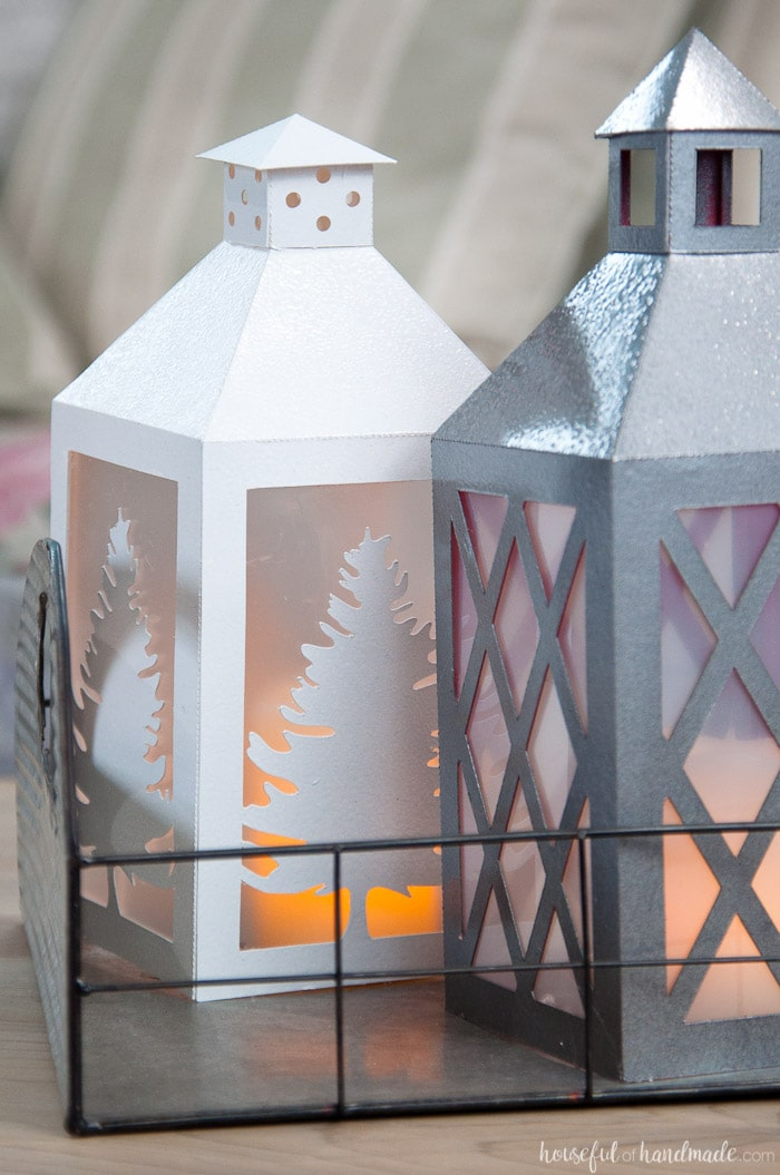 Diy paper lanterns decor a houseful of handmade for Home made decorative items
