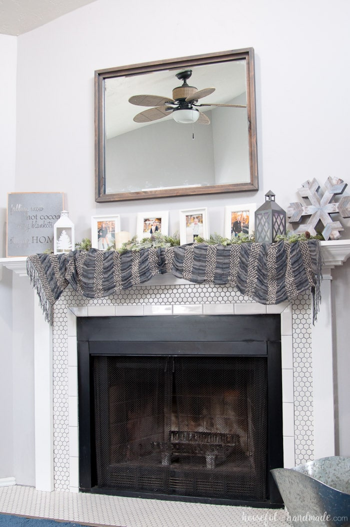Create The Perfect Warm And Cozy Winter Mantle Includes Lots Of Diy Home Decor Tutorials