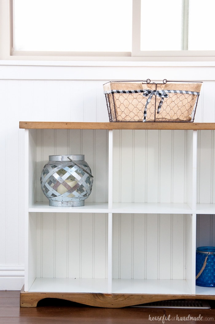 Charmant Donu0027t Throw Out Those Old Melamine Bookcases. Create A Beautiful Farmhouse Console  Table