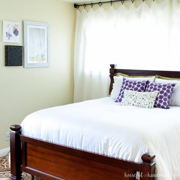 Master Bedroom Makeover in a Weekend
