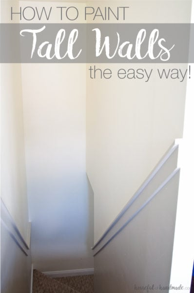 painted staircase pinterest image gray tall walls with white trim
