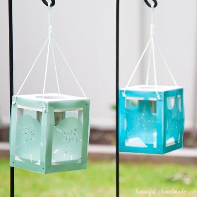 Coastal Solar Lantern Decor