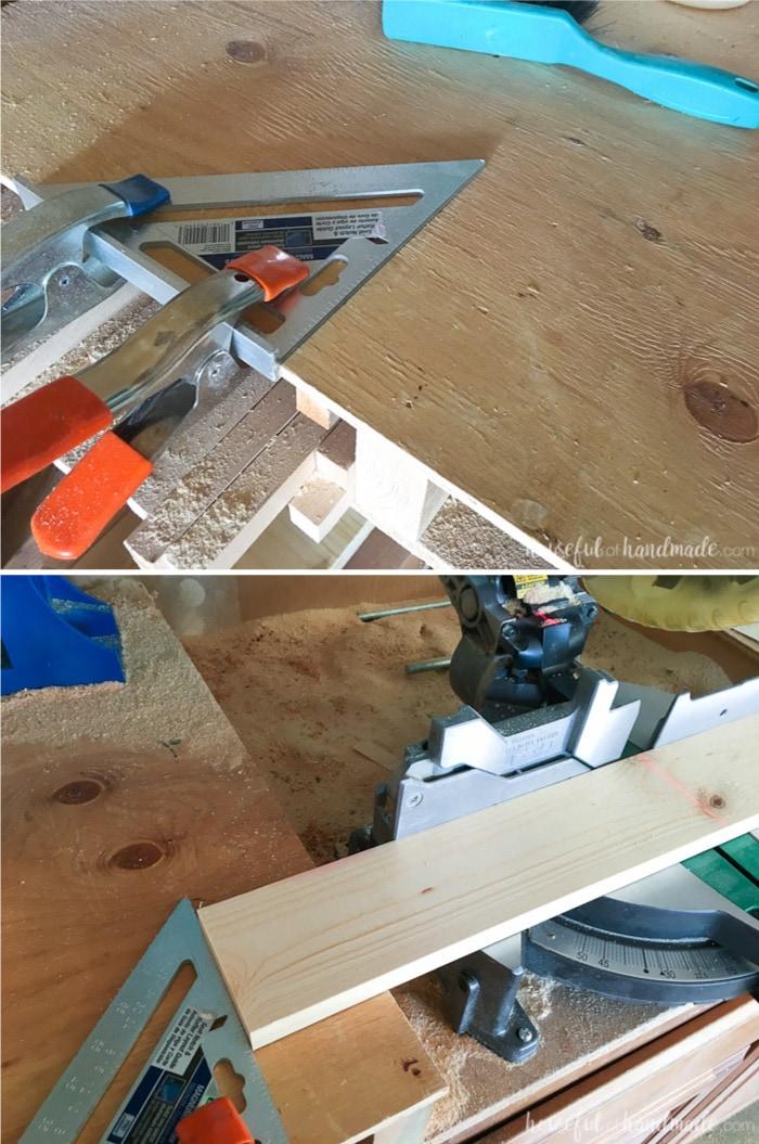 Make DIY easier with these easy DIY & woodworking hacks. Housefulofhandmade.com | Measuring Tips | Woodworking Tips | DIY Tips | Painting Tips