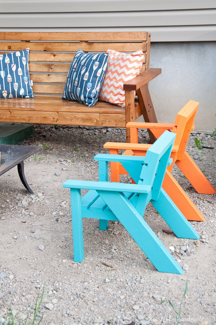 Free Kids Outdoor Furniture Plans Image Mag