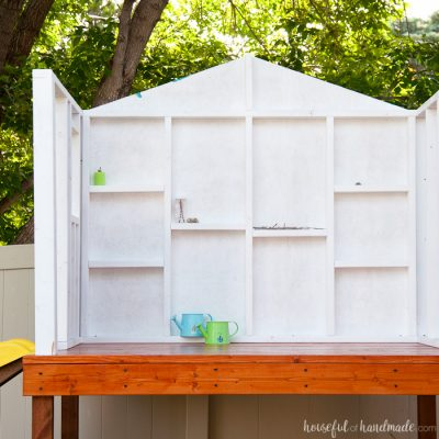 Our DIY Playhouse: The Walls