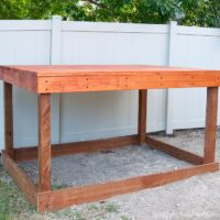 Our DIY Playhouse: The Deck