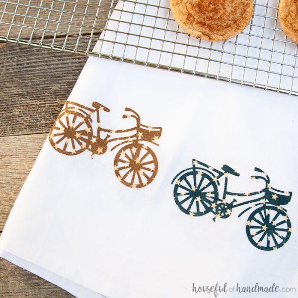 Decorative Summer Tea Towel DIY