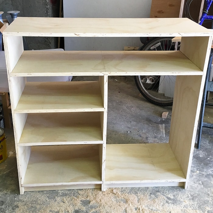 DIY Plywood Closet Organizer Build Plans