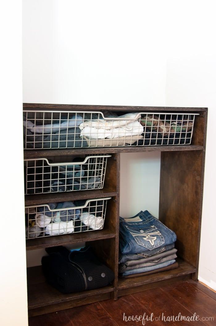 Create Custom Closet Organization On A Budget With The Diy Plywood Organizer Build Plans