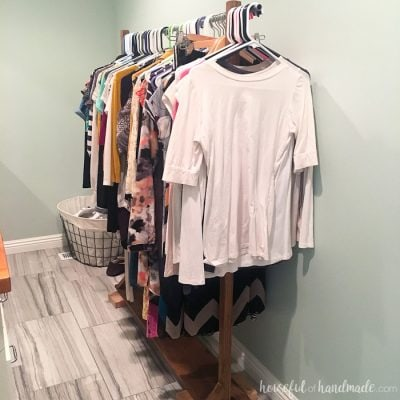 Master Bedroom Closet Makeover {Week 2}