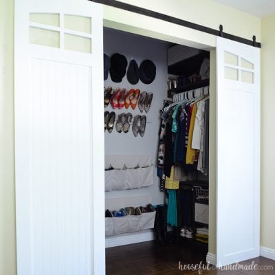 Closet Sliding Barn Doors Build Plans