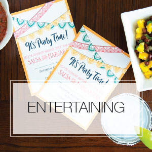 DIY crafts tutorials: Love to entertain? Create themed birthday parties and events on a budget. Includes lots of free printables to help you get ready to party. Housefulofhandmade.com