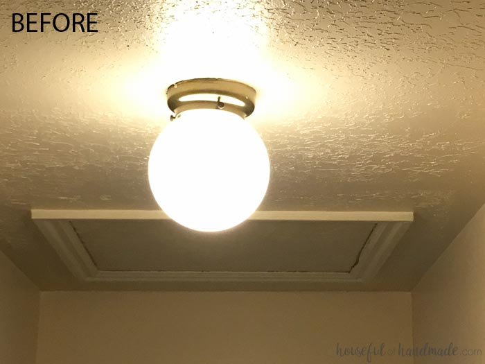 You'll never guess how beautiful this old light is now. Learn how to turn it into a beautiful drum ceiling light. Housefulofhandmade.com
