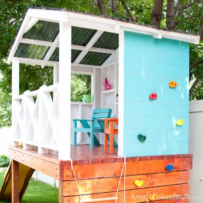Our DIY Playhouse: The Roof