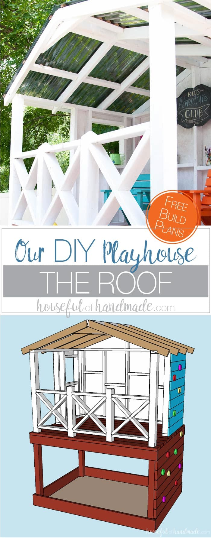 Build The Perfect Outdoor Playhouse For The Kids. Get Hours Of Imaginative  Play With This