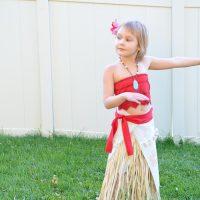Easy DIY Moana Costume