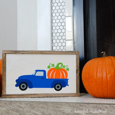 Easy Wood Pumpkin Sign