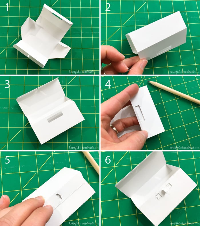 Assemble paper advent calendars boxes to create a beautiful refillable rustic advent calendar this year. Housefulofhandmade.com