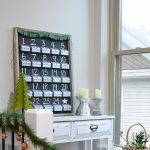 Fill your own advent calendar with this rustic advent calendar. Housefulofhandmade.com