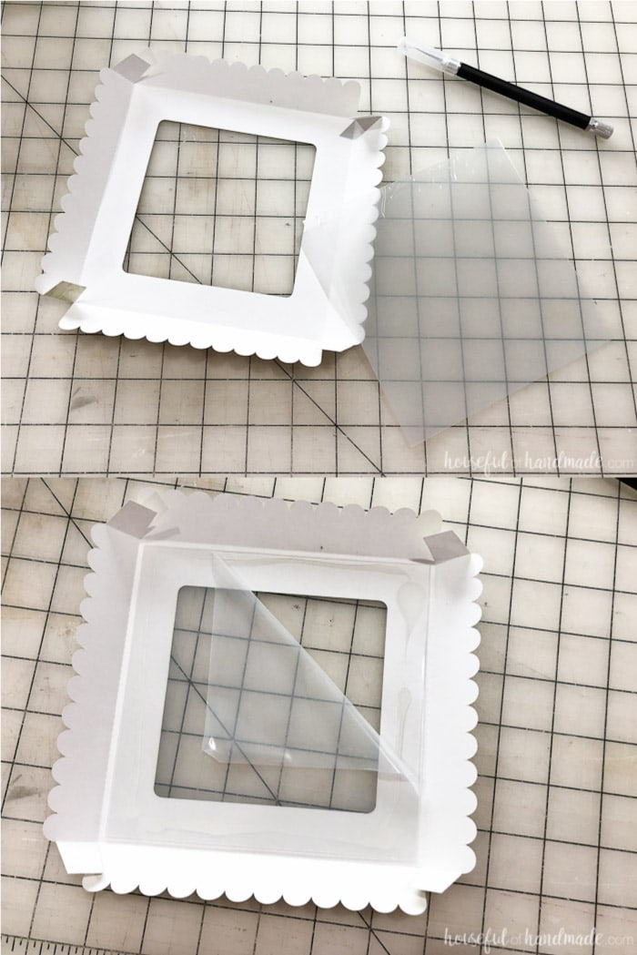 This clear window in the cookie box lid is my favorite part. Housefulofhandmade.com