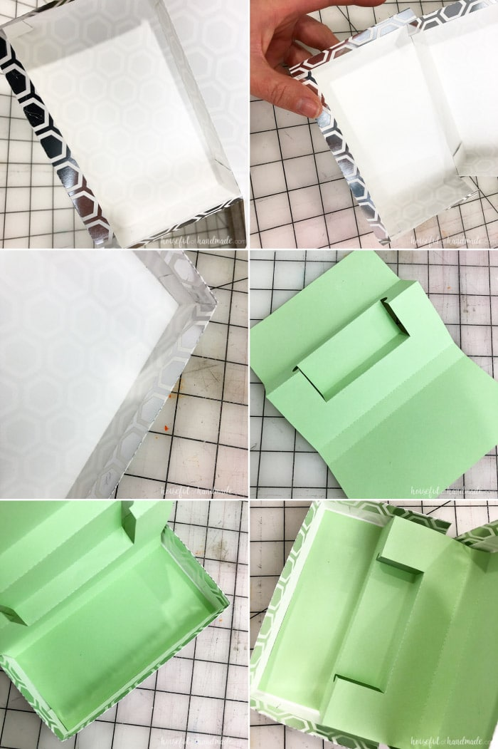 Create a rectangle gift card box with this free template. The box holds the gift card snuggly and it pops up to display when the box is opened. Housefulofhandmade.com