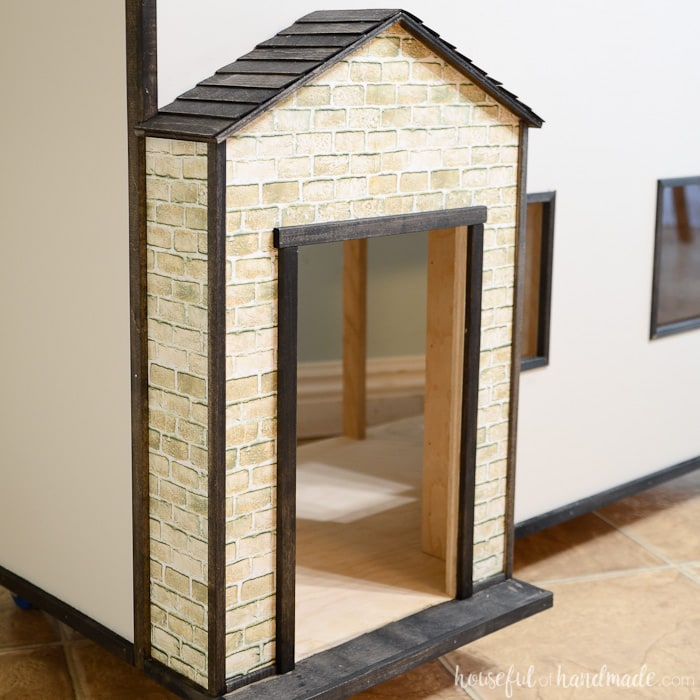 Handmade Dollhouse Exterior Houseful Of Handmade