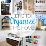 Pictures of 8 DIYs to help get you organized was one of the most popular DIY projects of the year.