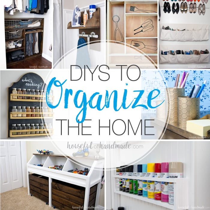 kitchen office organization ideas diys to organize the home houseful of handmade 19938