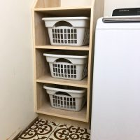 Stackable Laundry Basket Storage