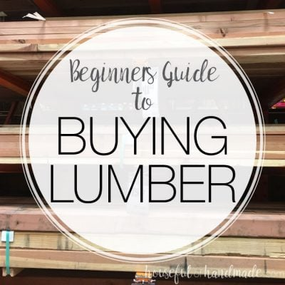 Beginners Guide to Buying Lumber