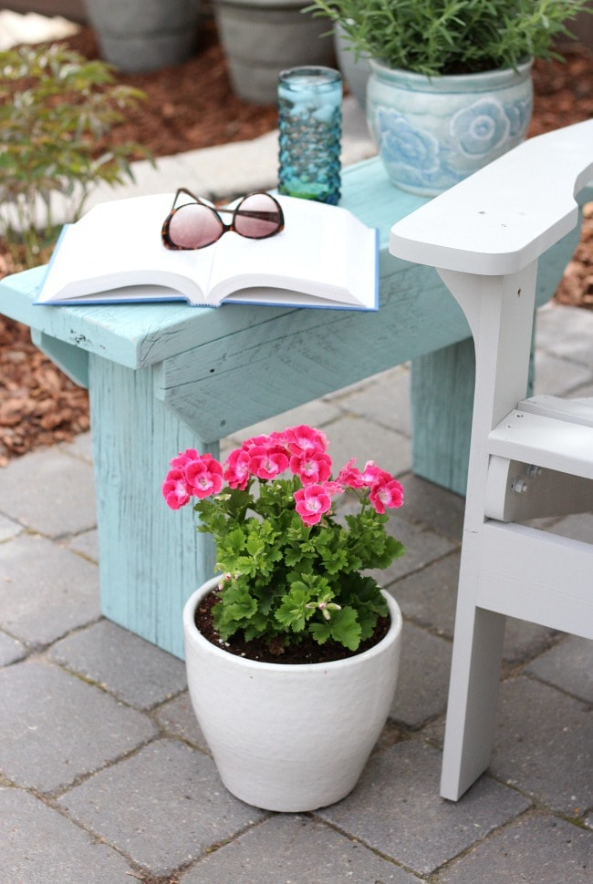 This Distressed Wood Outdoor Side Table from Satori Designs for Living is the perfect little table for any patio space. You can sneak it between chairs, by a sofa, or even as a foot stool. Go ahead and make a few, you know you want to.