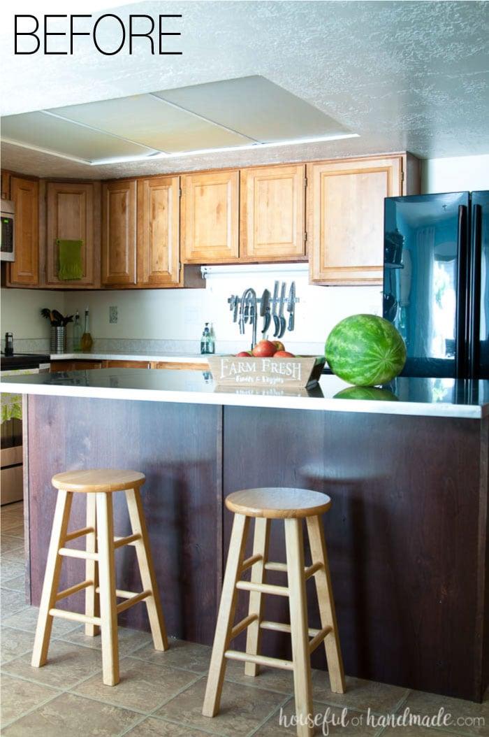budget farmhouse kitchen design houseful of handmade