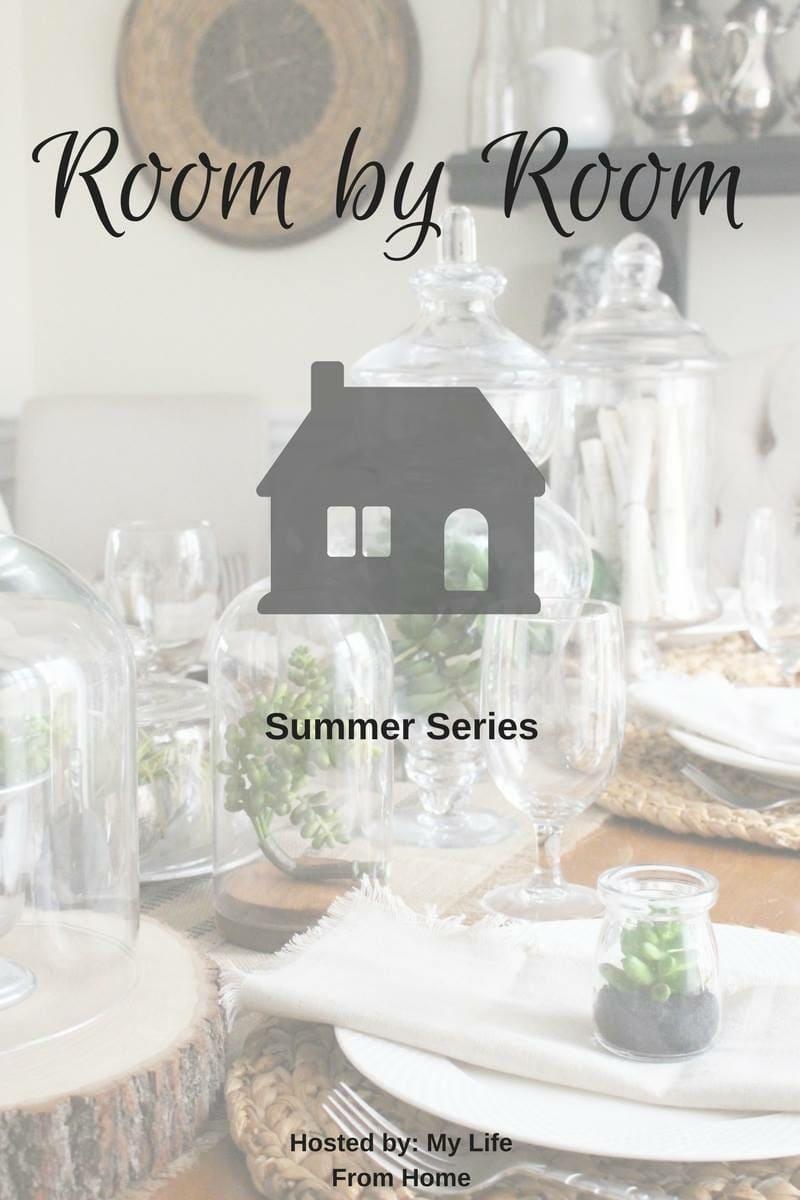 Room by Room Summer home tours. Housefulofhandmade.com