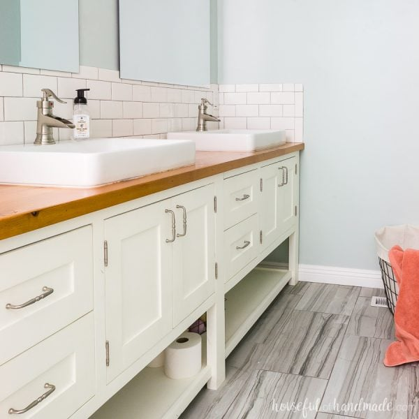 DIY Master Bathroom Retreat