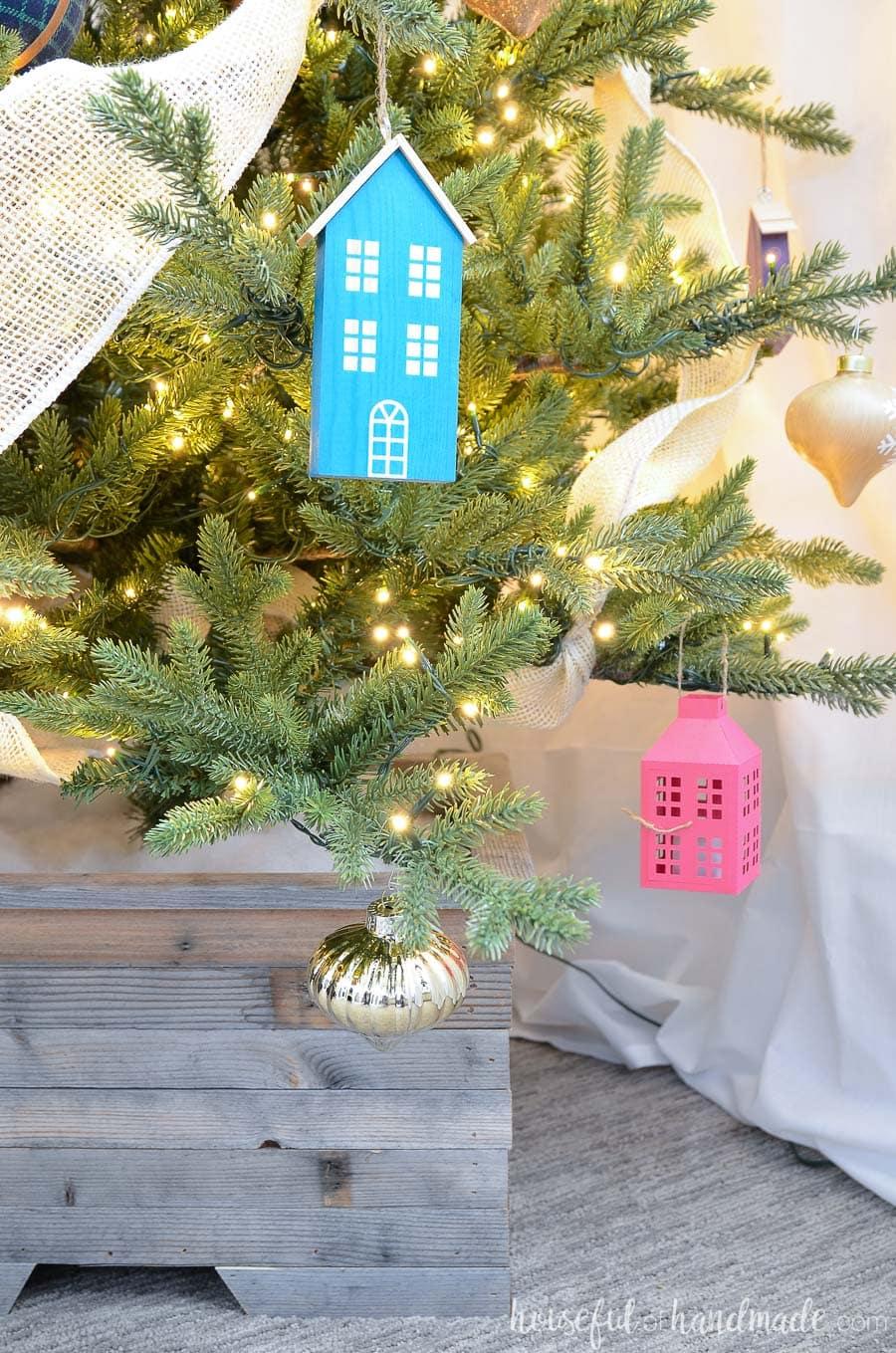 How To Make A Wood Christmas Tree Stand Houseful Of Handmade