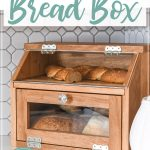 Free build plans for DIY Bread box.