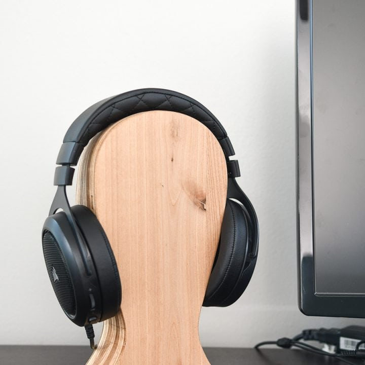 DIY Headphone Stand